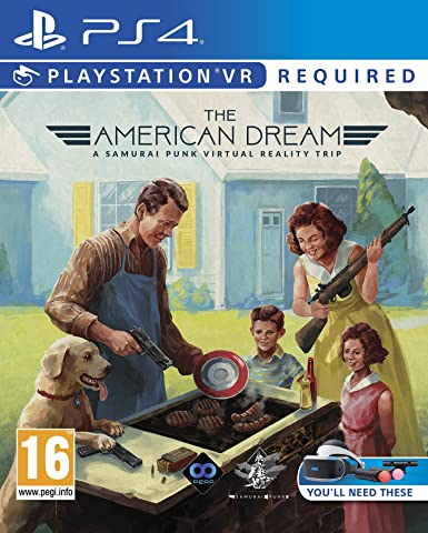 SONY PS4 GAME AMERICAN DREAM