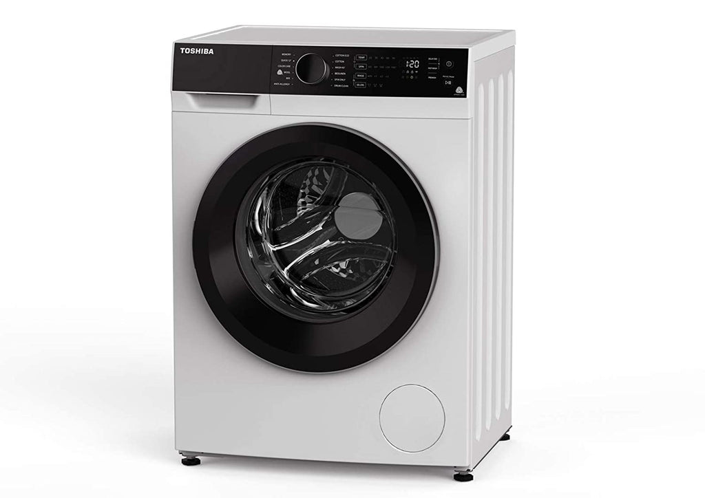 TOSHIBA FL 8kg Fully Automatic front loading Washing machine BJ 90S2GH  8KG WHITE