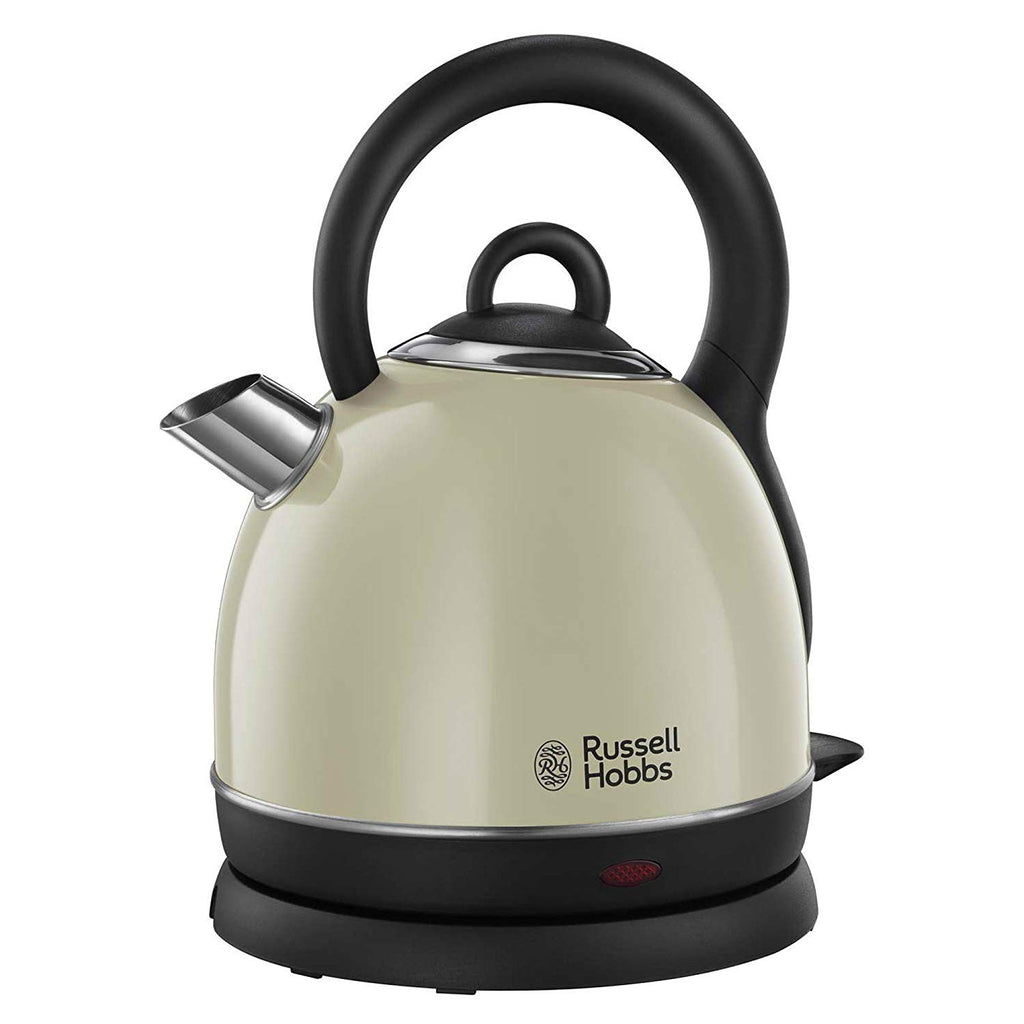 Russell Hobbs Dome Kettle, 3000 W, 1.8 liters, Cream