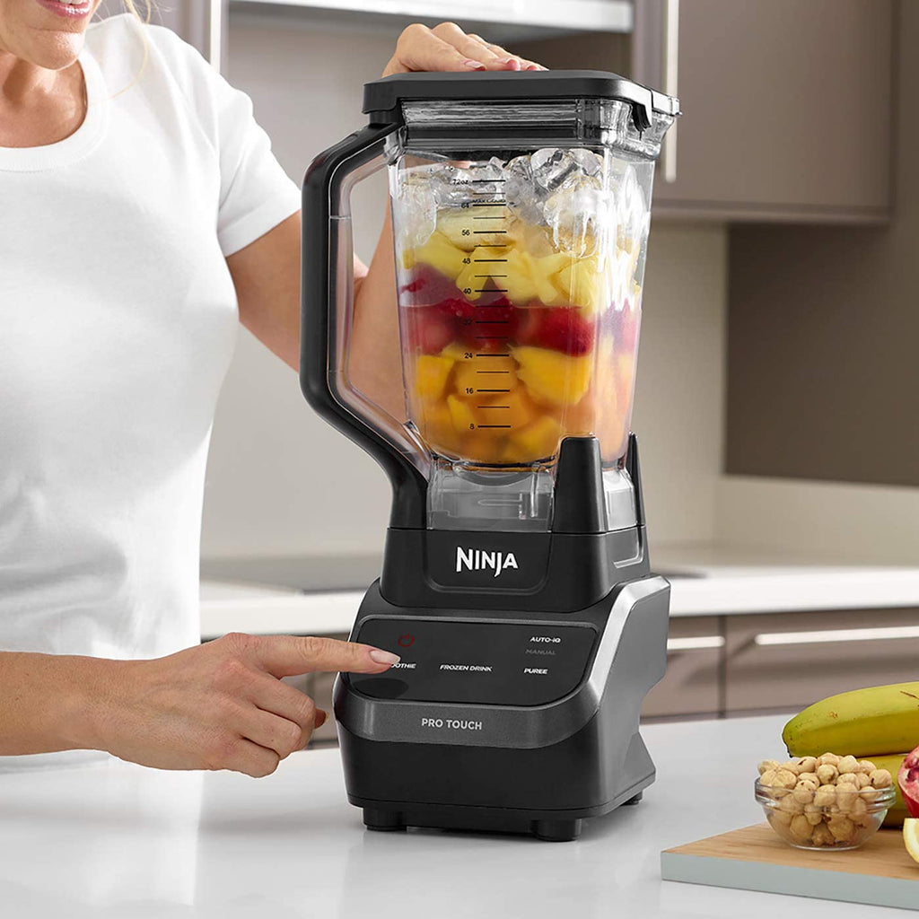 Ninja Multi-Serve Blender [CT610UK] Touchscreen, 1000W, Black