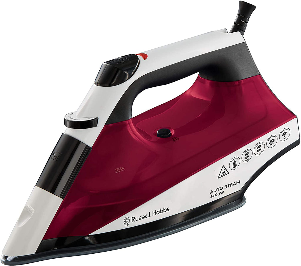 Russell Hobbs 22520 Auto Steam Pro Non-Stick Iron, 2400W