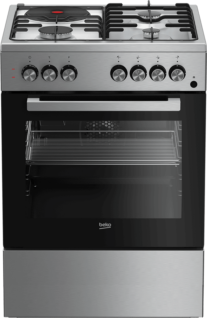 Beko GAS Cooker FSET63110DX