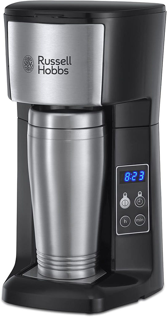 Russell Hobbs 22630 Brew and Go Filter Coffee Machine and Mug