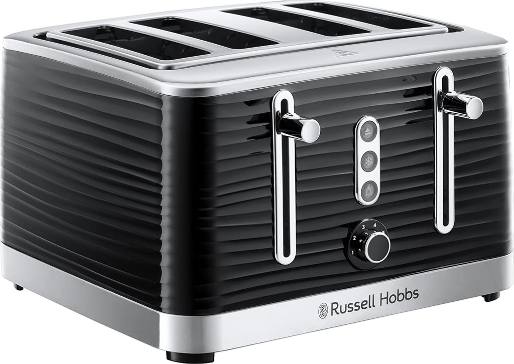 Russell Hobbs 24381 Inspire High Gloss Plastic Four Slice Toaster