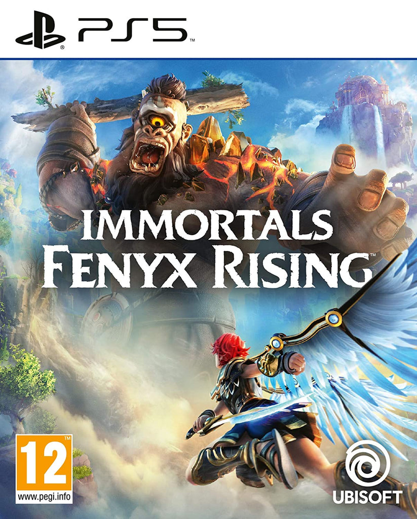 Sony PS5 Game Immortals Fenyx Rising