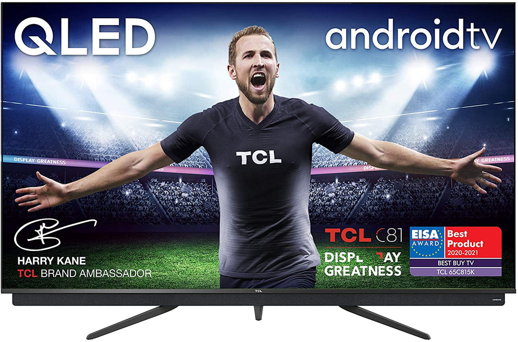 "TCL 65"" 4K Ultra HD, Smart QLED Television Android TV 65C815K"