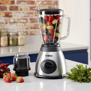 Tower Glass Jar Blender with Grinder T1 2008
