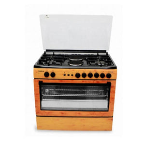 Scanfrost Cooker Medium Wood Finish CK-9425