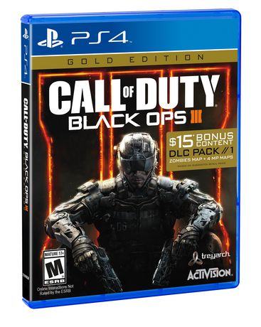 Sony PS4 Game Call Of Duty Black OPS III
