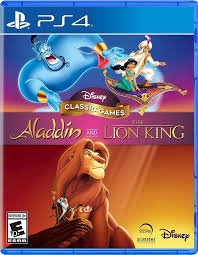SONY PS4 GAME ALADDIN AND THE LION KING