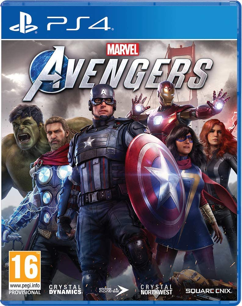 SONY PS4 GAME AVENGERS