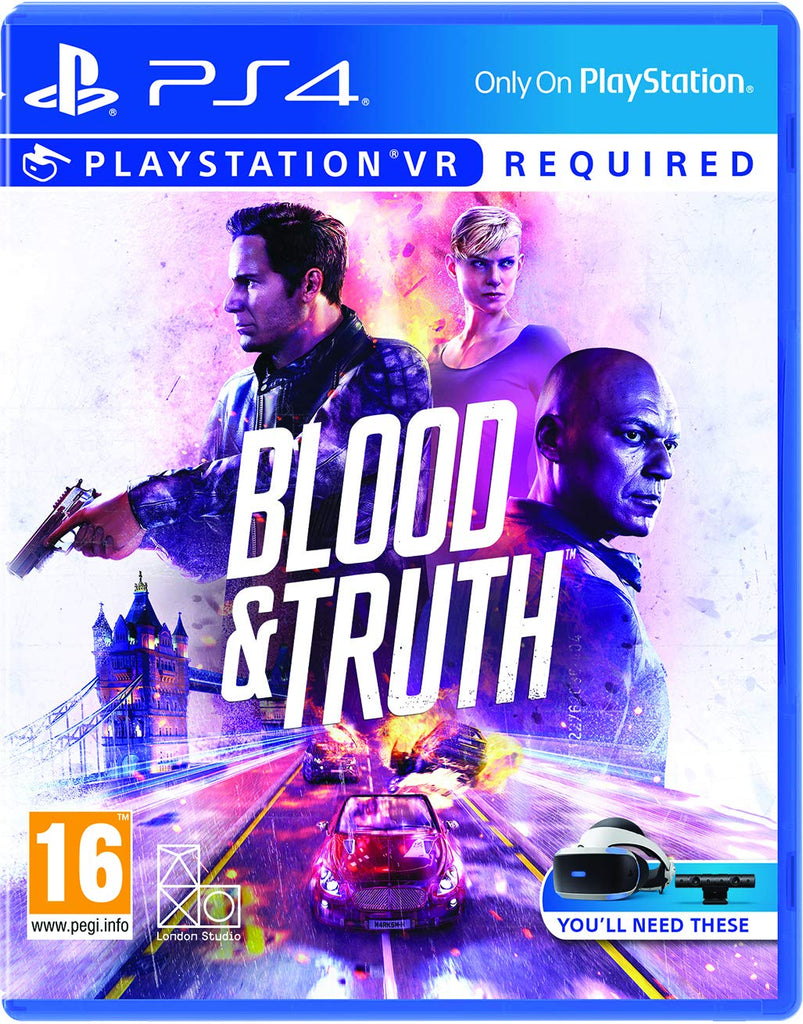 SONY PS4 GAME BLOOD AND TRUTH