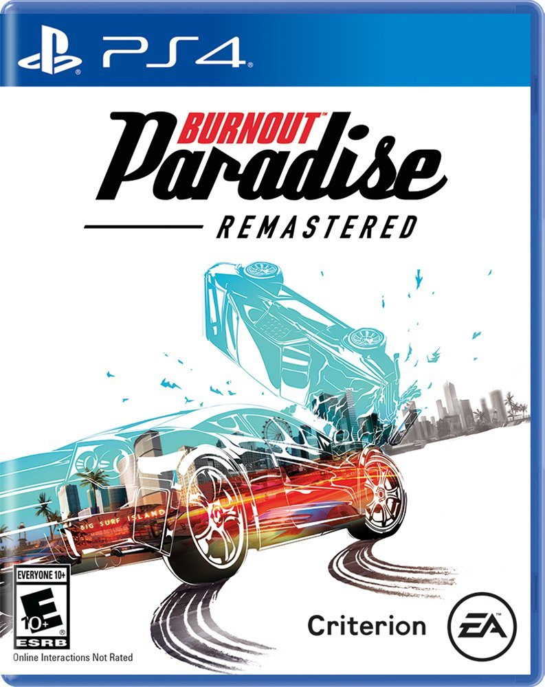 SONY PS4 GAME BURNOUT PARADISE