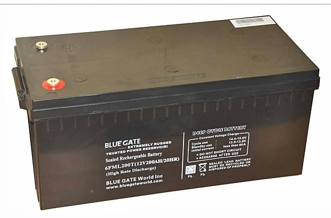 Bluegate Battery 12V / 200AMPS