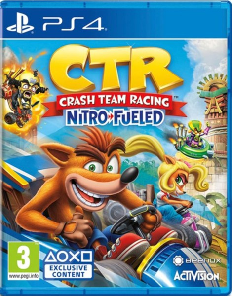 SONY PS4 GAME CTR NITRO FUELED