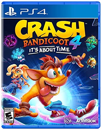 Sony PS4 Game Crash Bandicoot 4; ITS ABOUT TIME