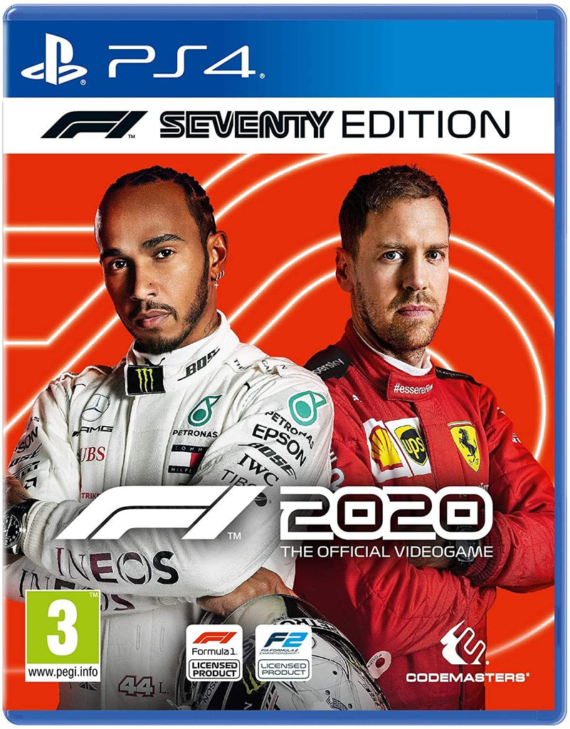 SONY PS4 GAME FORMULA 1 2020