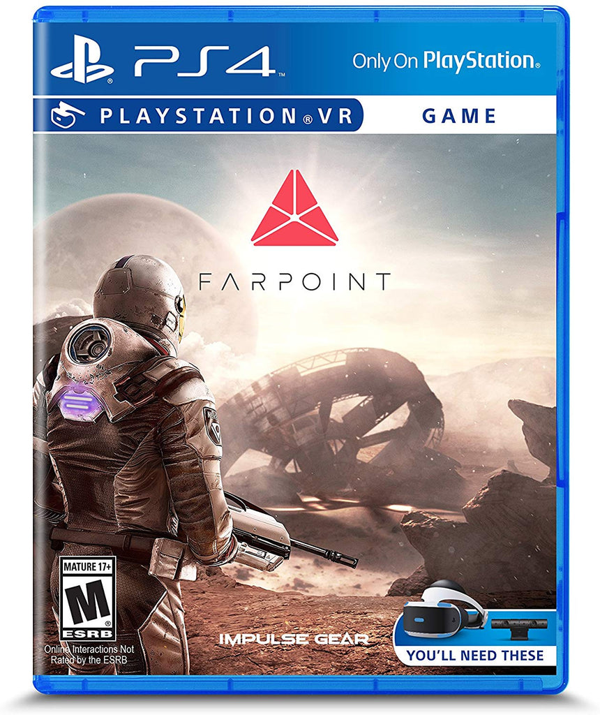 SONY PS4 GAME FARPOINT