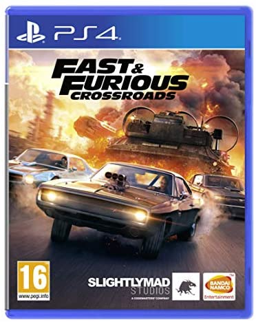 SONY PS4 GAME FAST AND FURIOUS