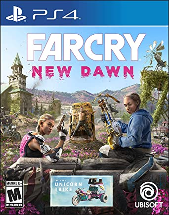 Sony PS4 Game Far Cry New Dawn