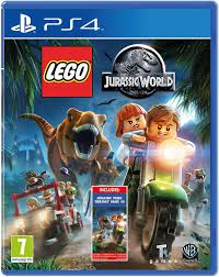 SONY PS4 GAME LEGO JURASSIC WORLD