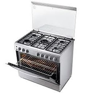 BEKO 5 BURNER GAS COOKER GE-BGGS 900 ELECTRIC OVEN 90CM