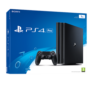 Sony PS4 Console 1TB + 2 Game + Controller