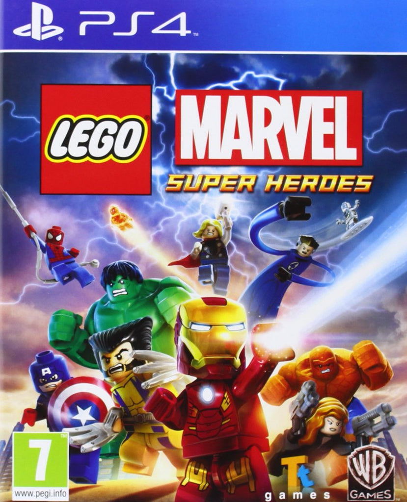 Sony PS4 Game Lego Marvel Super Heroes