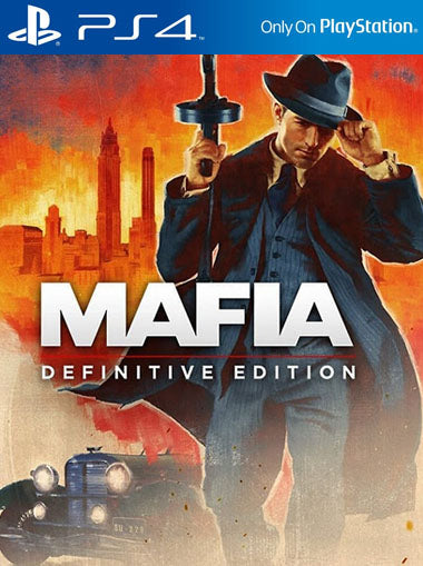 SONY PS4 GAME MAFIA DETINITIVE EDITION