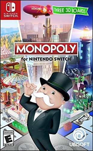 Nintendo Switch Game Monopoly