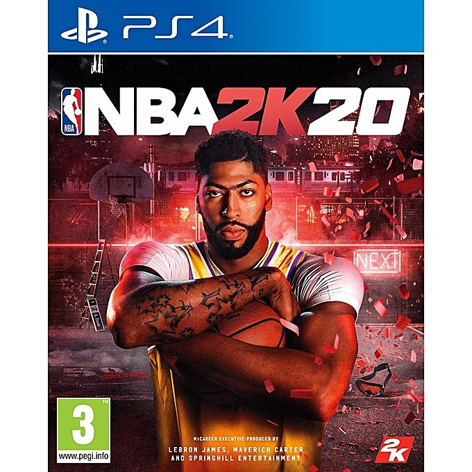 SONY PS4 GAME NBA 2K20