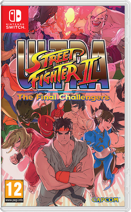 Nintendo Switch Game -Ultra Street Fighter 2