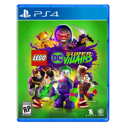 SONY PS4 GAME LEGO DC SUPER VILLIANS