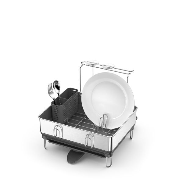 Simple Human Compact Steel Frame Dish Rack