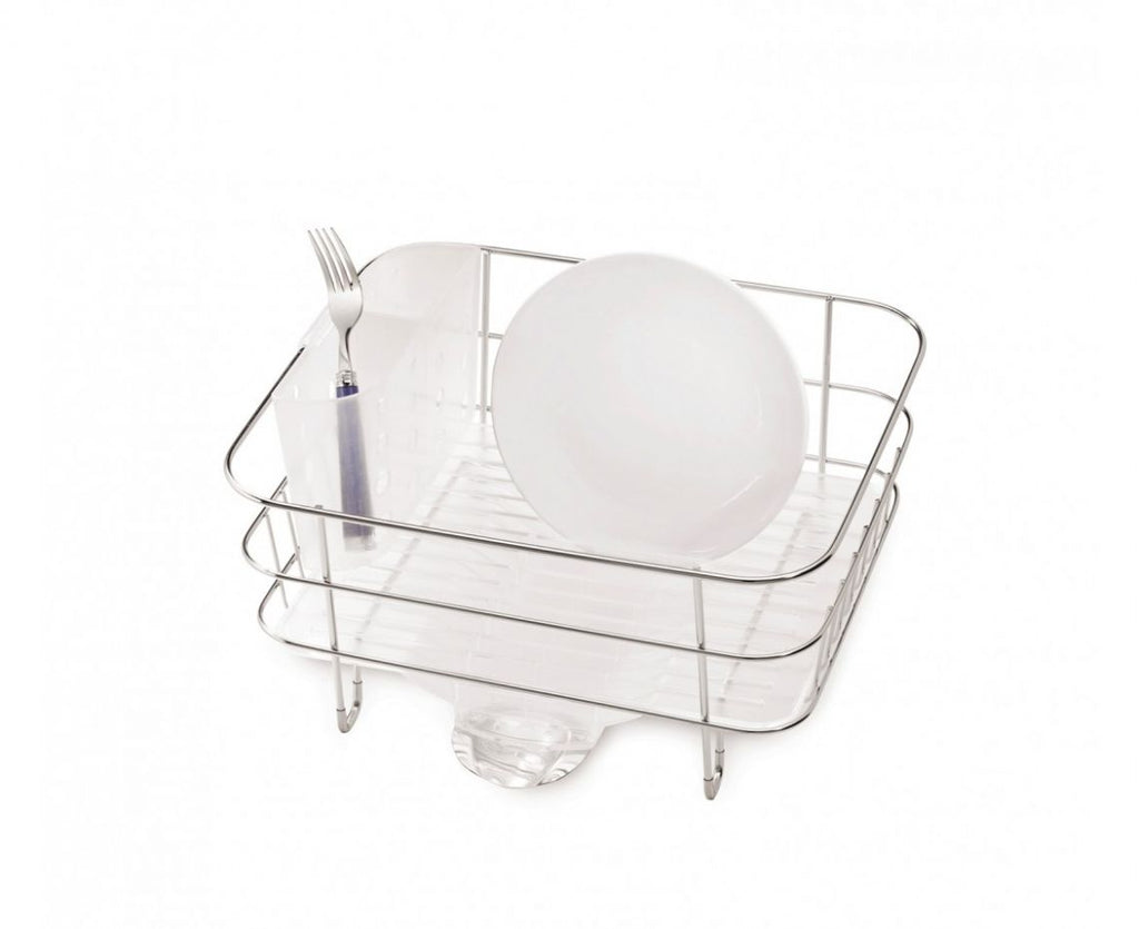 Simple Human Compact Steel Wire Frame Dish Rack