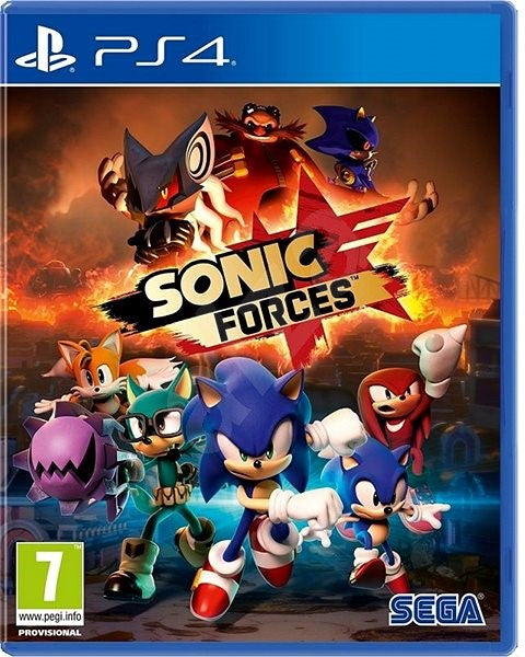 SONY PS4 GAME SONIC FORCE