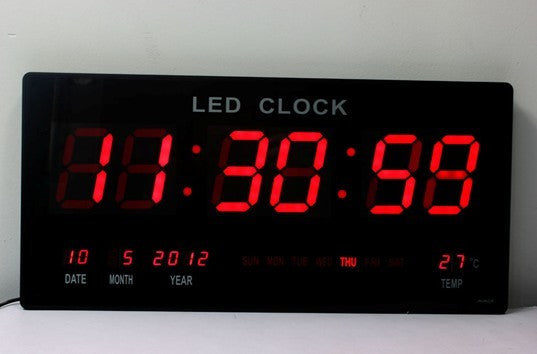 Digital LED Clocks - 6 Digits