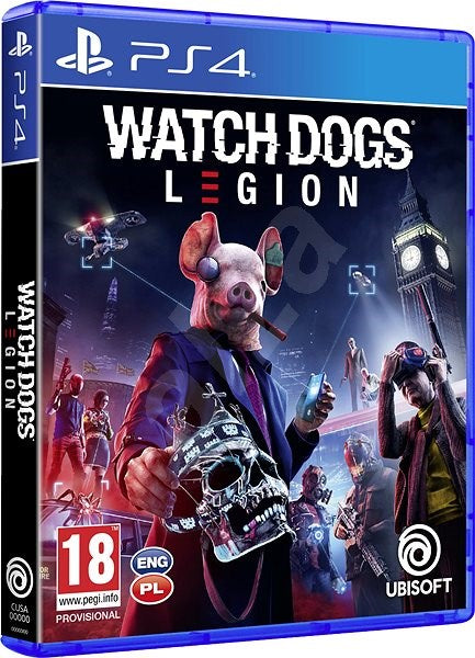 SONY PS4 GAME WATCHDOGS LEGION