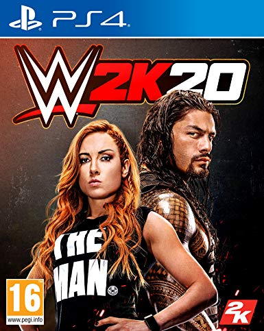 SONY PS4 GAME WWE 2K20
