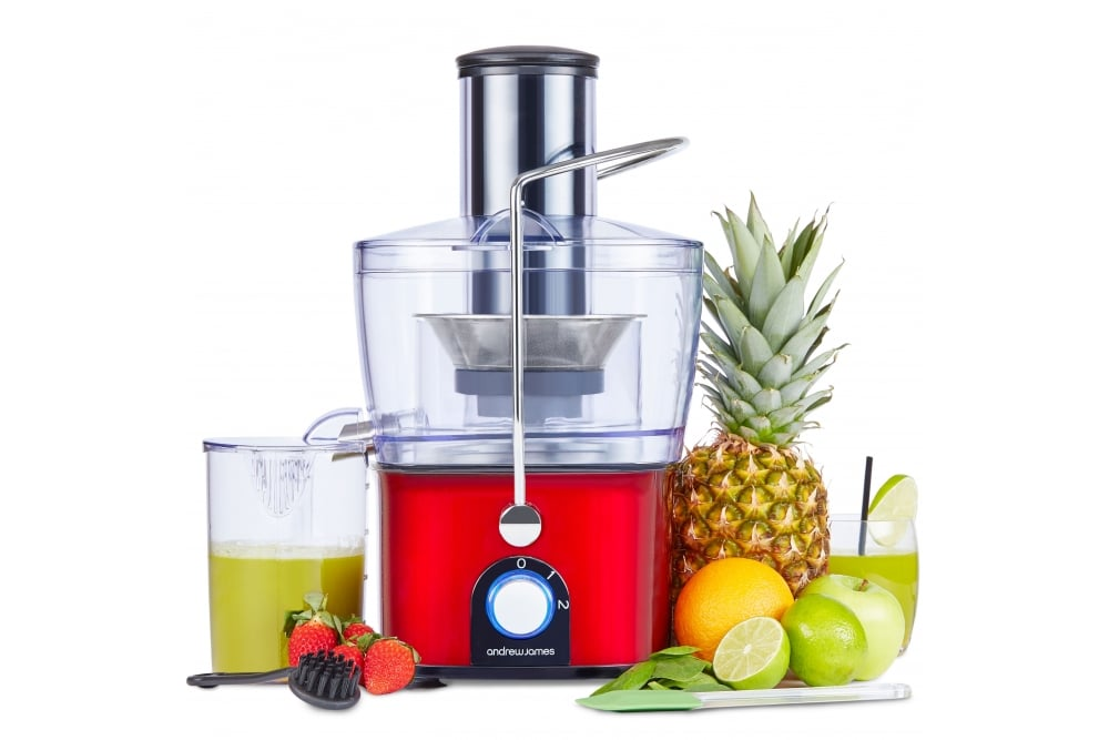 Andrew James Compact Integrated Whole Fruit Juicer