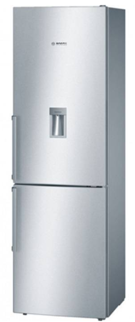 Bosch Free-Standing Fridge Top Freezer With Water Dispenser KGD36VI305