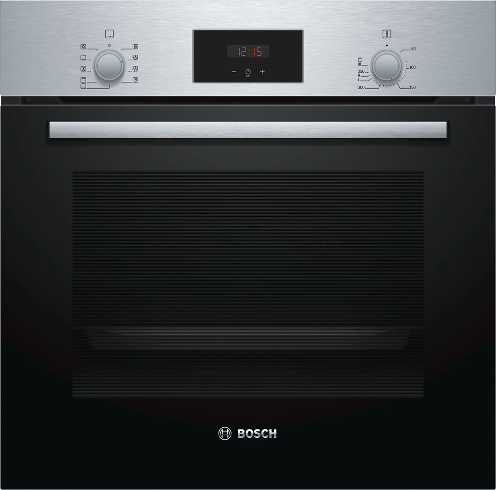 Bosch Serie 2 HHF113BA0B Built In Electric Single Oven - Black
