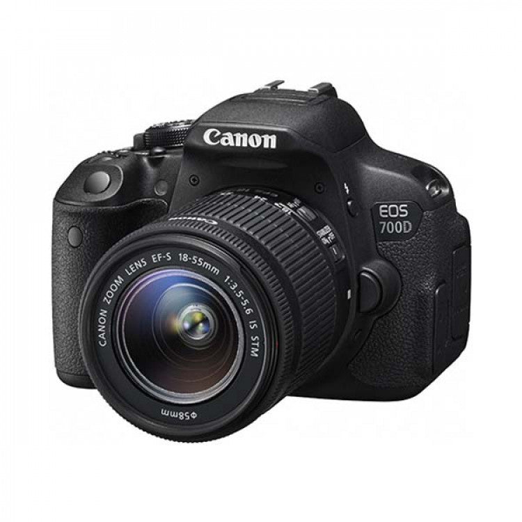 Canon EOS 700D DSLR Professional Camera + 18-55MM Lens