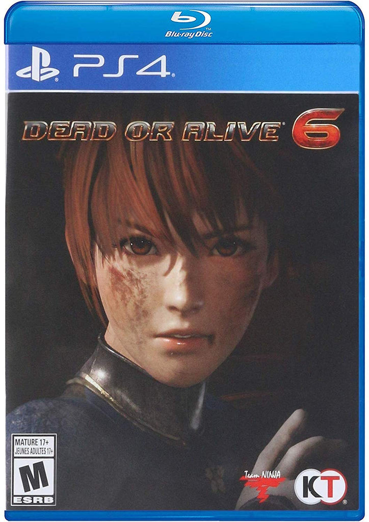 SONY PS4 GAME DEAD OR ALIVE 6