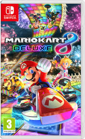 Nintendo Switch Game- Mario Kart 8 Deluxe-