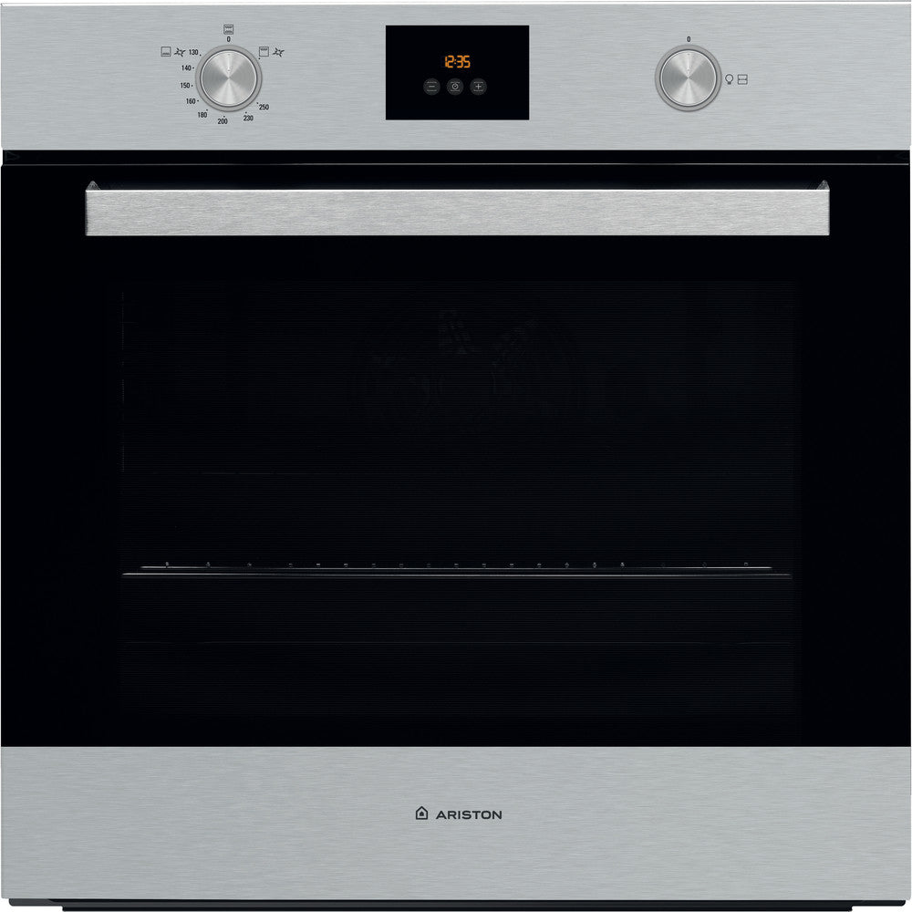 ARISTON BUILT IN GAS OVEN INOX COLOR FHY5 GG X