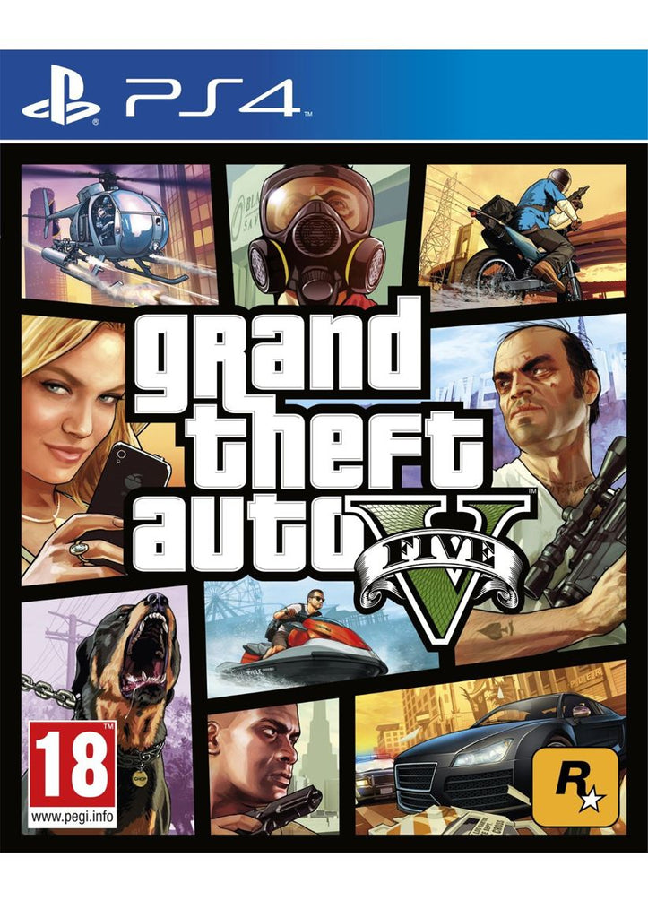 Sony PS4 Game Grand Theft Auto GTA V