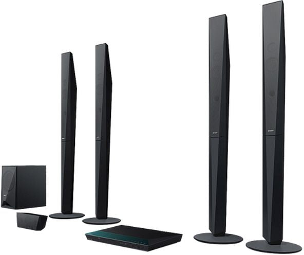 Sony Blu-Ray Wi-Fi 4-Way Home Theatre System - 1000W (BDV-E-6100)