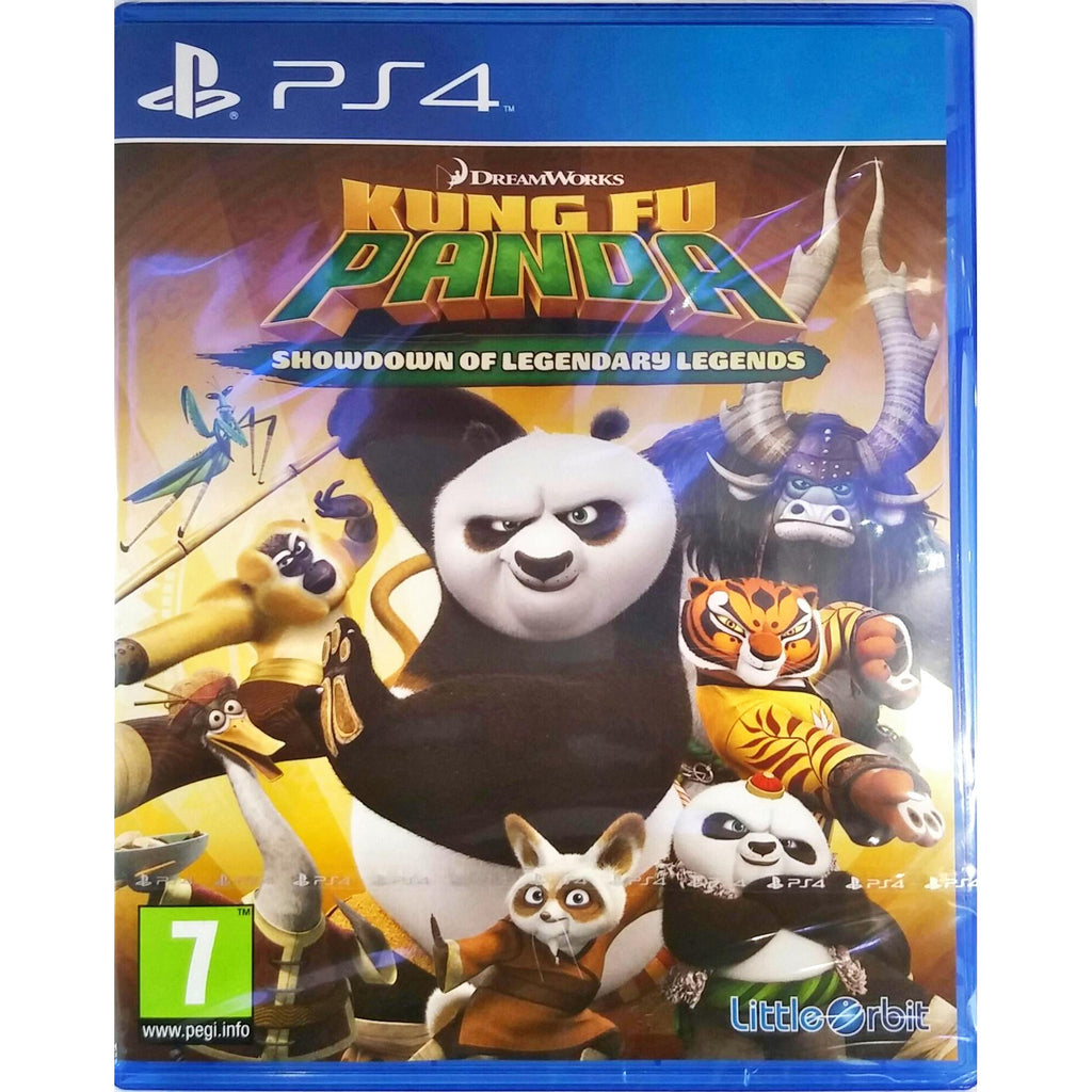 Sony PS4 Game Kung Fu Panda
