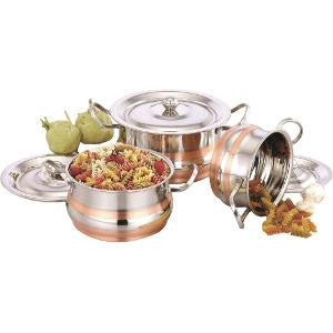 NNL Serving Pot 4PC SET W/ LID COLOUR